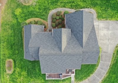 aerial view of residential home picture 1